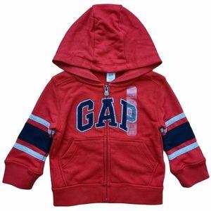 Gap Baby Logo Zip Up Hoodie